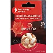 Лизин-Cat-полезное лакомство при герпесвирусных инфекциях для кошек фото