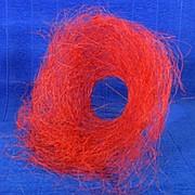 Plastiflora Каркас для букета 25см сизаль гнездо красный фото