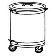 Бак для отходов