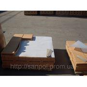 Упаковка керамического кирпича вспененным полиэтиленом. Надежная упаковка! фото