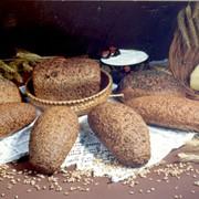Лечебный профилактический хлеб из зерна пшеницы фото