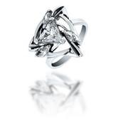Кольца из серебра 100011 АРАБИКА
