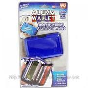 Бумажник для кредитных карт Аллюма Уоллет алюминиевый кошелек Aluma Wallet Алюма Уолет фото