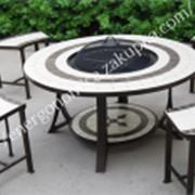 "Комплект Барбекю ""Рикарди-2"", стол +4 стула фото"