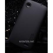 Чехол Nillkin Lenovo A800 - Super Frosted Shield Black (6100792), код 55721 фото