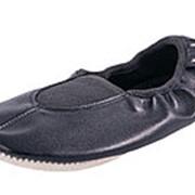 612002-02_33 черный туфли дорожные школьные нат. кожа Р-р 33 фото