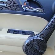 Аквапринт 3D заводская технология, перетяжка салона автомобиля фото