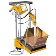 Электростатическая установка напыления с виброплатформой фото