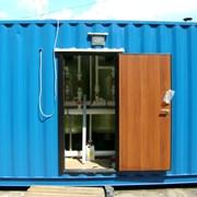 Водоподготовка в контейнере фото