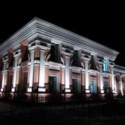 Архитектурная подсветка фотография