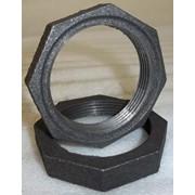 Контргайка стальная 50 ГОСТ 8968-75, оцинкованная фото
