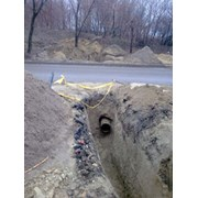 Делаем проколы под дорогами для прокладки водопро фото