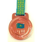 Медаль рельефная за 3-е место бронза фото