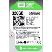 Жесткий диск HDD WD SATA3 320Gb Caviar Green 64Mb фото