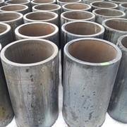 Камнелитые базальтовые вкладыши для футеровки труб фото