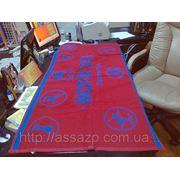 Вышивка логотипов на махровых полотенцах фото