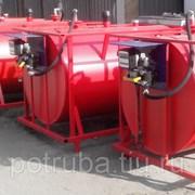 Емкость для хранения дизельного топлива V= 80 м3 фото
