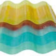 Пластик волнистый прозрачный фото