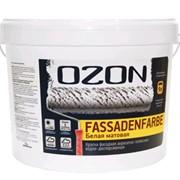 Краска 0,9 л OZON FassadenFarbe база А фасадная матовая ВДАК 112А фото