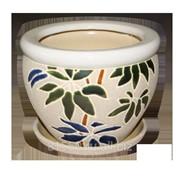 Горшок для цветов керамический 153 фото