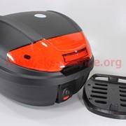 Кофр LUX Матовый черный отстегивающийся HF-877 410*400*300мм фото
