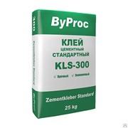 Клей цементный стандартный БиПрок KLS-300, 25 кг фото