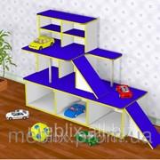 Игровая мебель автосалон, игровая зона для детского сада фото
