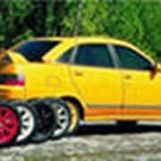Колеса на легковые автомобили. фото