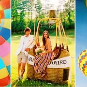 Полет на воздушном шаре для 3-х человек фото