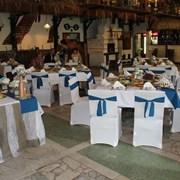 Свадебные чехлы на стулья напрокат фото