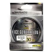 """Леска Namazu """"Ice Generation"""", L-30 м, d-0,14 мм, test-1,72 кг, прозрачная/10/400/ фото"""