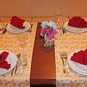 Скатерти, дорожи, салетки для ресторанов