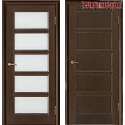 Дверь деревянная Vilario Premiera 5 венге фото