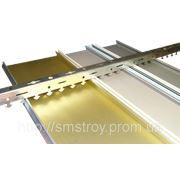 Алюминиевые подвесные потолки. фото