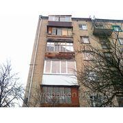 Реконструкция балконов фото