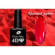 Holy Rose 4D Красный рубин гель-лак 7,3 мл фото