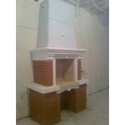 Монтаж установка портала камина печи дымохода