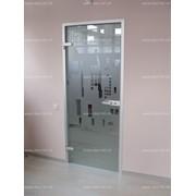 Изготовим и смонтируем стеклянные двери фото