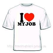 Заказать печать на футболке Харьков фото