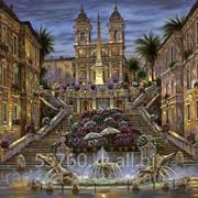 Картина по номерам Испанская лестница. Рим - Роберт Файнэл фото