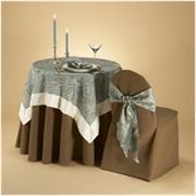 Скатерти ,чехлы для стульев и мягкой мебели фото