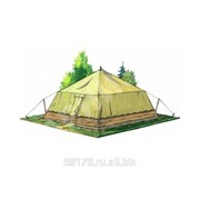 Палатка лагерная солдатская (б/у) фото