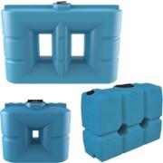 Узкие пластиковые емкости для воды 500 - 2 000 л