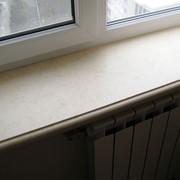 Подоконники из мрамора и гранита, искусственного камня фото