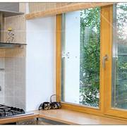 Дерево-алюминиевые окна фото