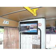 Видеореклама в маршрутных такси Симферополя фото