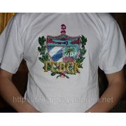 Нанесение рисунков и логотипов на футболки в Донецке