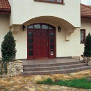Входная металлопластиковая дверь фото