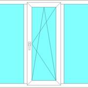 Окно трехстворчатое фото