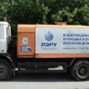 Откачка накопительных емкостей и канализации производственных предприятий фото